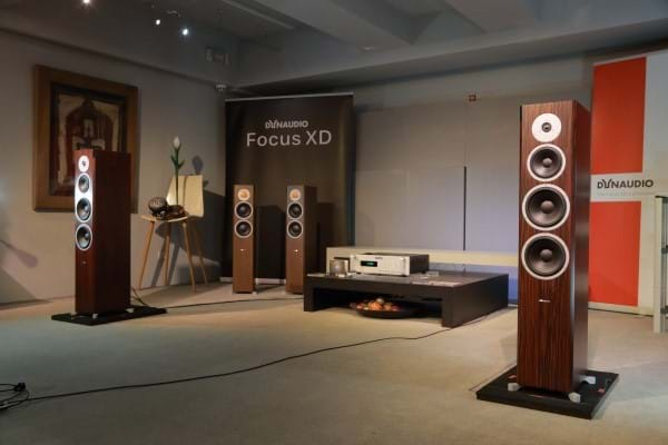 New Focus 600 XD in the listening room