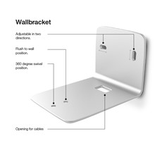Dimensions of Xeo 2 wall bracket